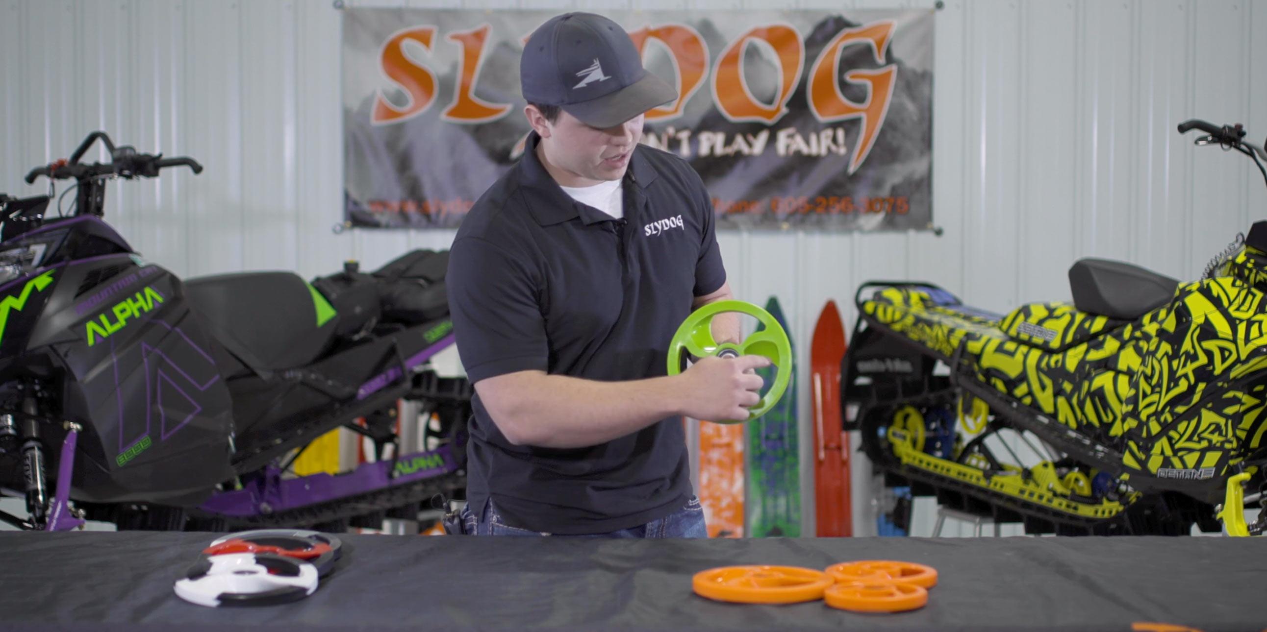 Custom Snowmobile Bogie And Idler Wheels Slydog