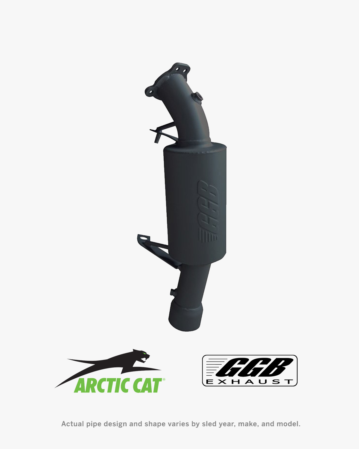 Picture of GGB Mountain Exhaust for Arctic Cat Snowmobiles