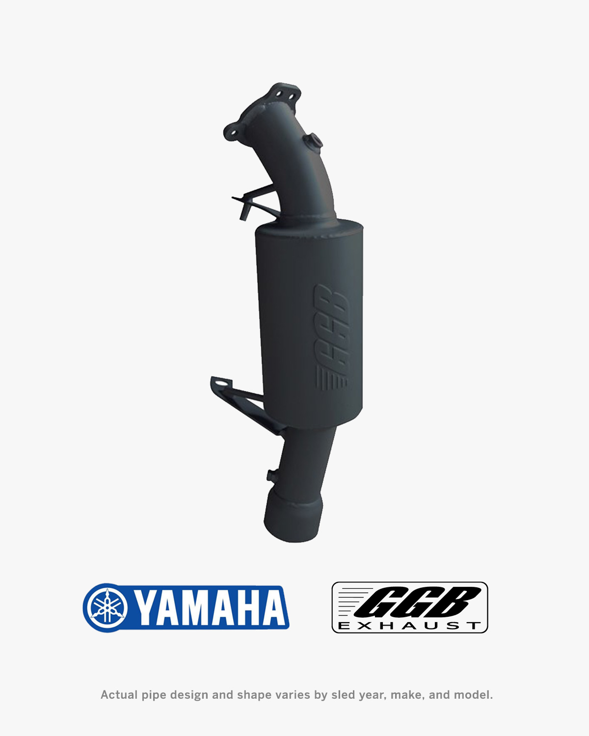 Picture of GGB Trail Exhaust for Yamaha Snowmobiles